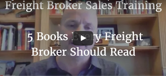 Freight Broker Sales Training – 5 Must Read Books!