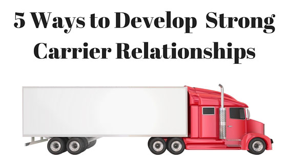 5 ways freight brokers can develop strong carrier for Can a motor carrier broker freight