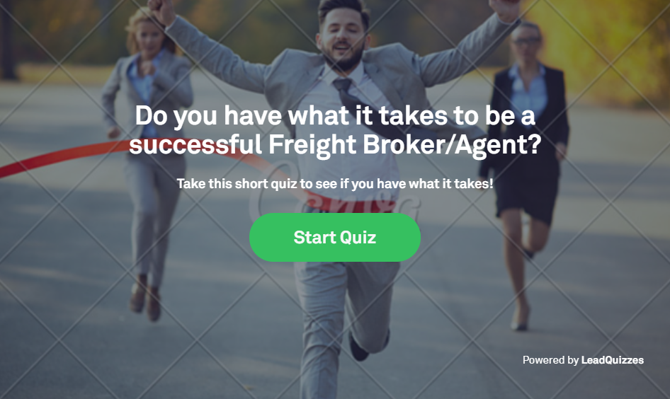 Did You Take My Freight Broker Quiz Yet?