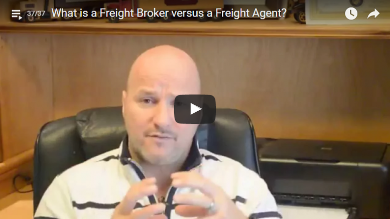What is a broker vs agent