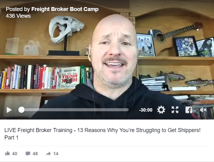 13 Reasons Why You're Struggling to Get Shippers PART 1
