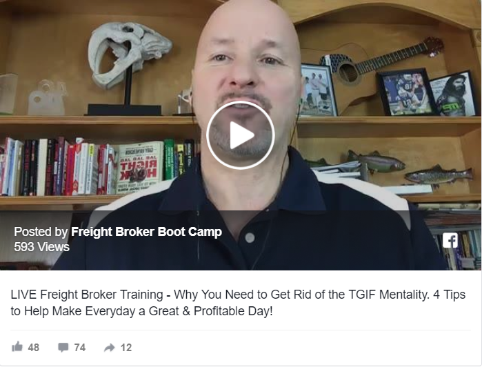 5 Tips to Help Freight Brokers & Agents Get Rid of the TGIF Mentality