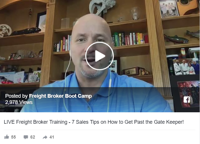 7 Freight Broker Sales Tips on How to Get Past the Gate Keeper!