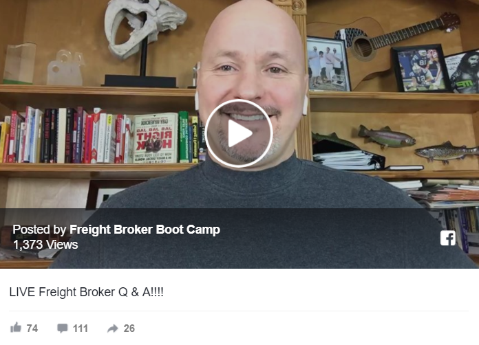 LIVE Freight Broker Questions & Answers (Q&A)