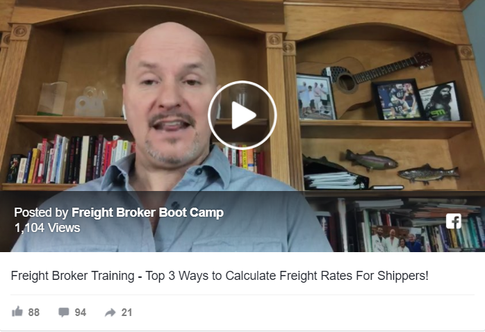 freight rates for shippers