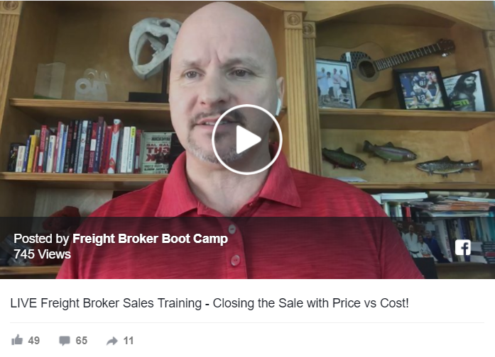 Freight Broker Sales Training – How to Overcome the Price Objection