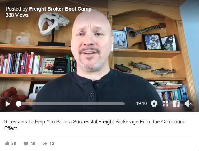 9 Lessons To Help You Build a Successful Freight Brokerage PART 1 of 2