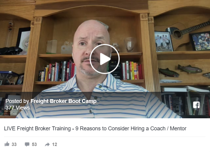 9 Reasons Freight Brokers and Freight Agents Need a Coach / Mentor