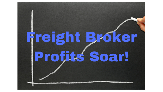 The Shipping Rush Pushes Freight Broker Profits Forward