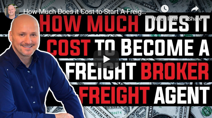 How Much Does it Cost to Start a Freight Broker or Freight Agent Business in 2020